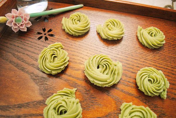 【美食课堂】10月15日,一起来DIY抹茶丹麦曲奇吧!