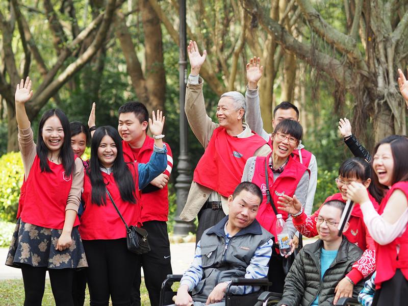 【招募义工】11月12日,大型残障人士出游活动服务。