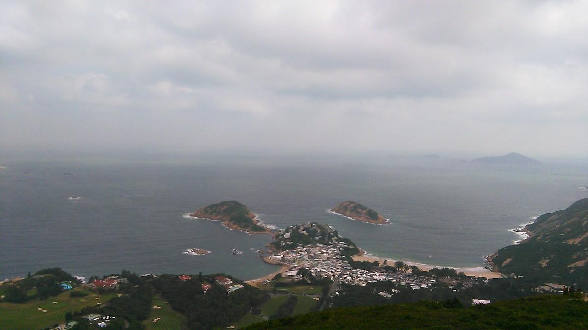 香港徒步第十五期4月29日香港鹤咀+石澳徒步